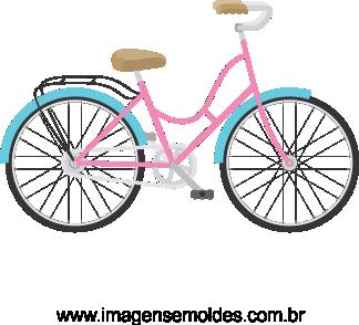 Imagem Bicicleta Vetorizada 03.