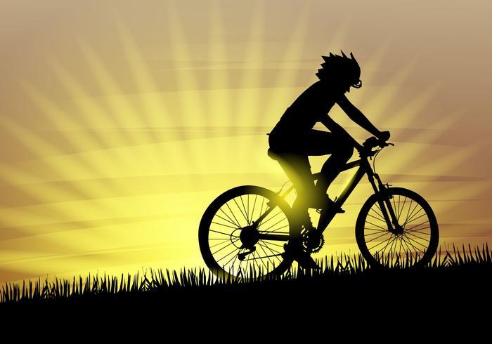 Free Bicicleta Vector Illustration.