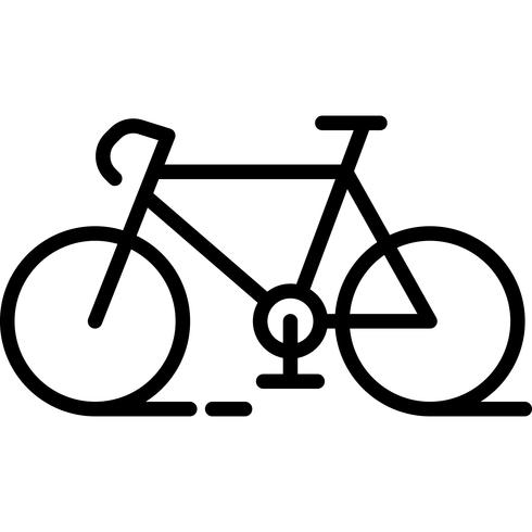 Bicycle Icon Vector.