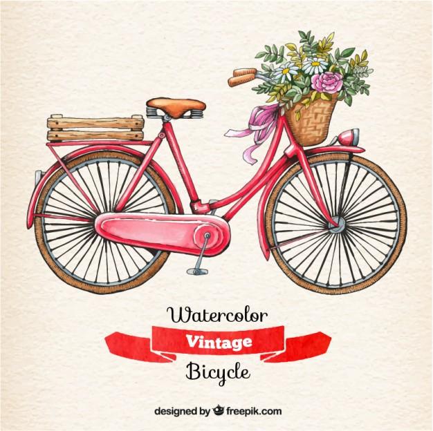 Vintage Bicycle Free Vector Free Download Clip Art.