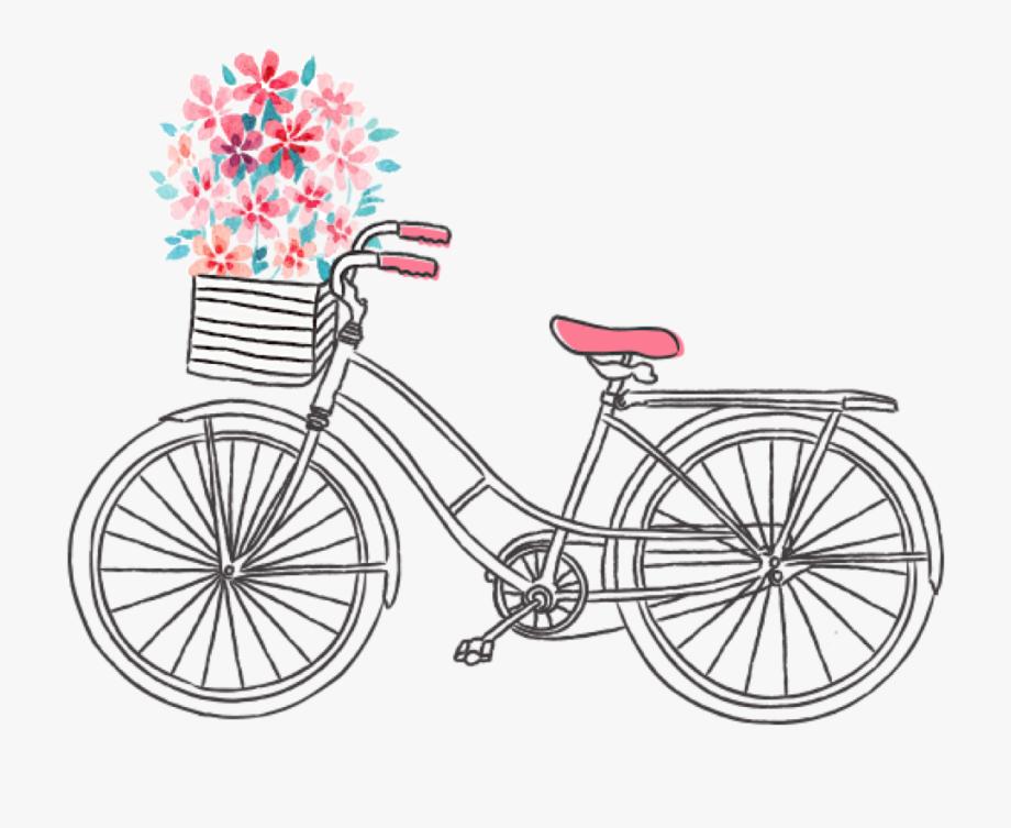 19 Bike Transparent Watercolor Huge Freebie Download.