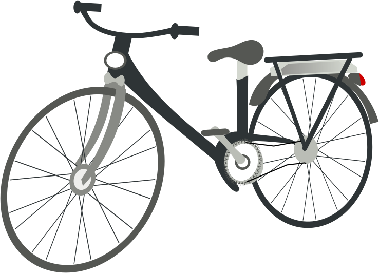 Free to Use & Public Domain Bicycle Clip Art.