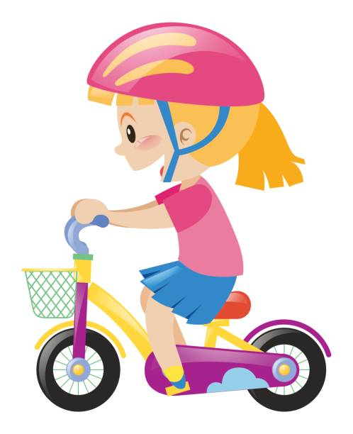 103252 Girl free clipart.