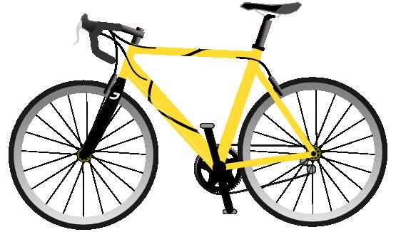 Spin Bike Wheel Clipart.