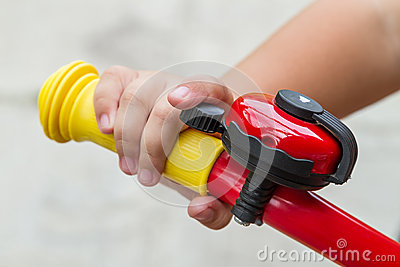 Image Of Bicycle Bell Stock Illustration.