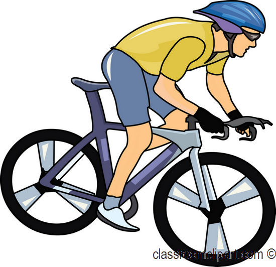 Cycling clipart #11