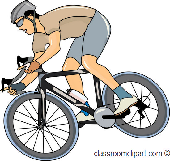 Cycling Clipart.