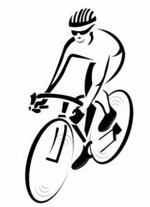 Cyclist Clip Art Download.