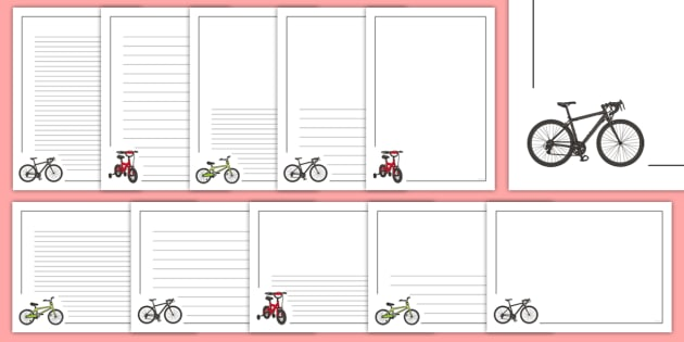 Bike Page Border Pack.