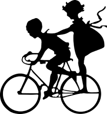 Image result for bicycle built for two clipart.