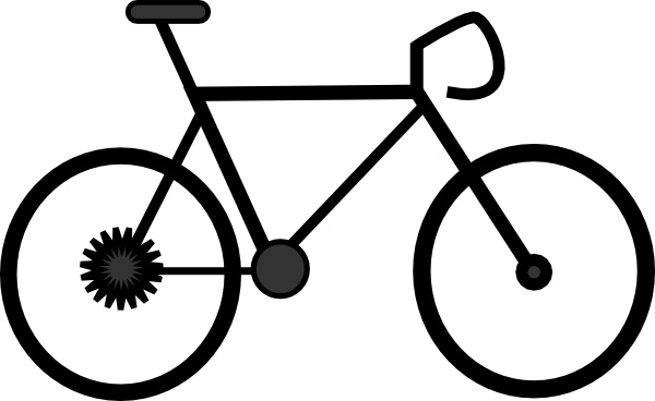 Bike clip art Free vector in Open office drawing svg ( .svg ) vector.