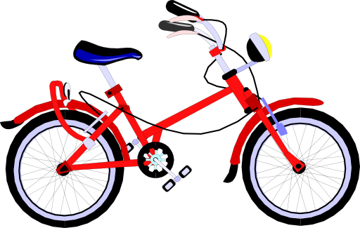 Clip Art Bicycle Parts Clipart.