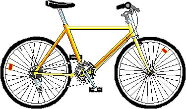 Bike free bicycle animated bicycle clipart clipartwiz.