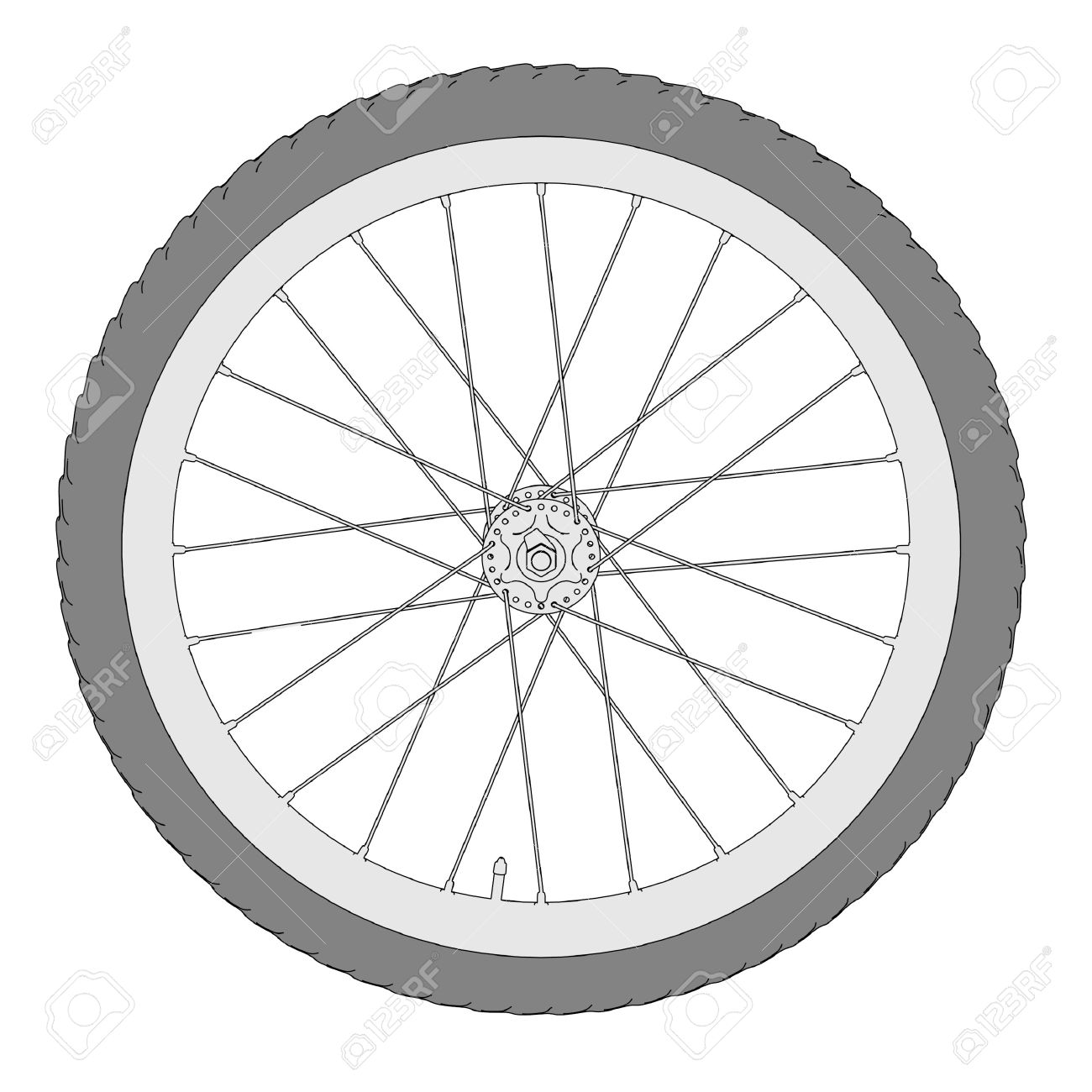 Bicycle Clock Clipart Clipground