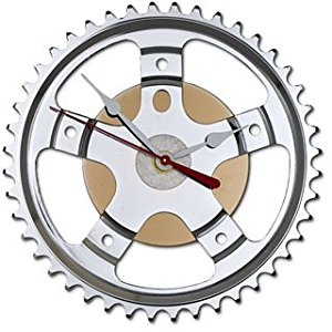 Amazon.com: Recycled Bicycle Parts Hybrid Wall Clock: Home & Kitchen.