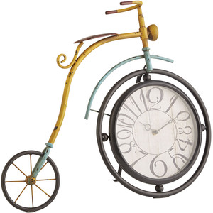 Pier 1 Imports Colorful Bicycle Clock.