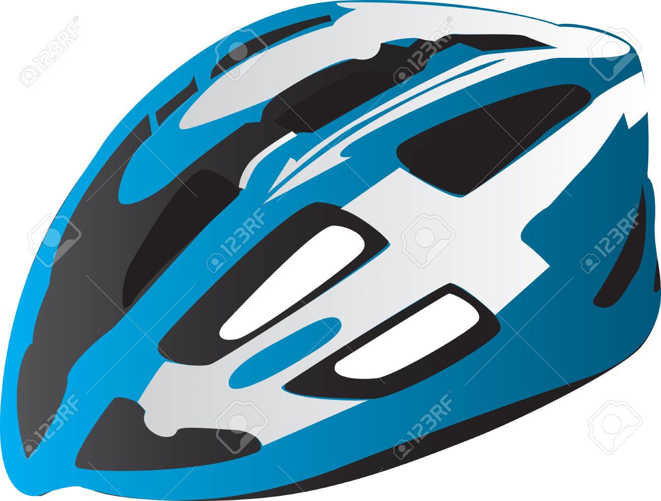 Kids bicycle helmet no background clipart.