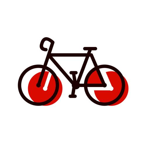 Bicycle Icon Design.