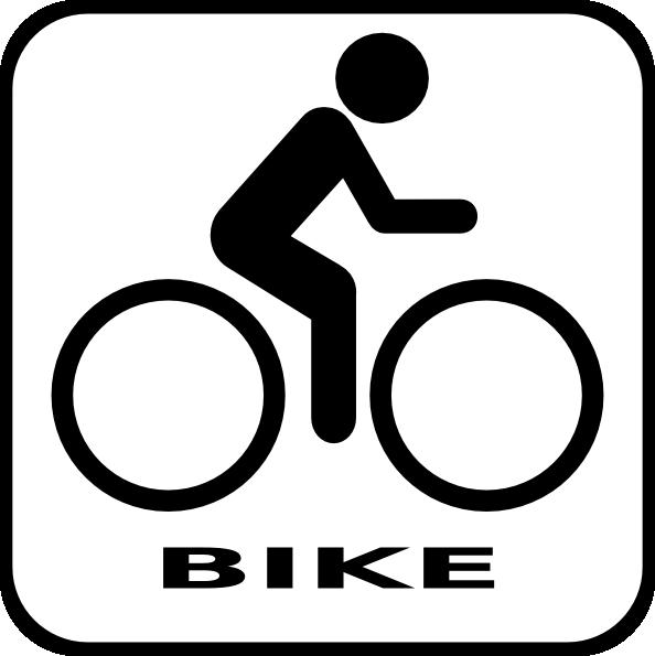 Bike Icon Clip Art at Clker.com.