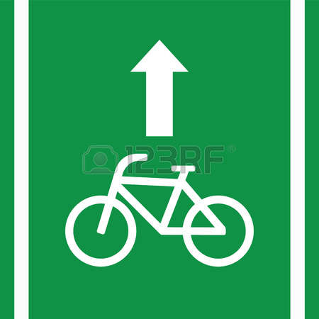 1,403 Bicycle Lane Stock Vector Illustration And Royalty Free.