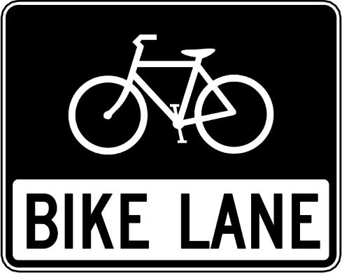 bike lane.
