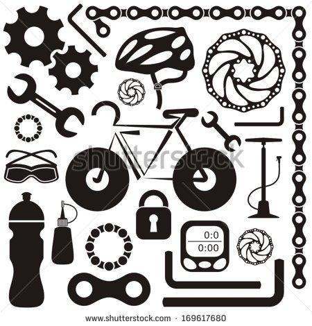 Bike Chain Stock Photos, Royalty.