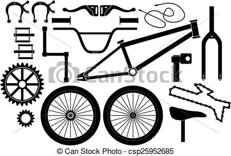 BMX parts.