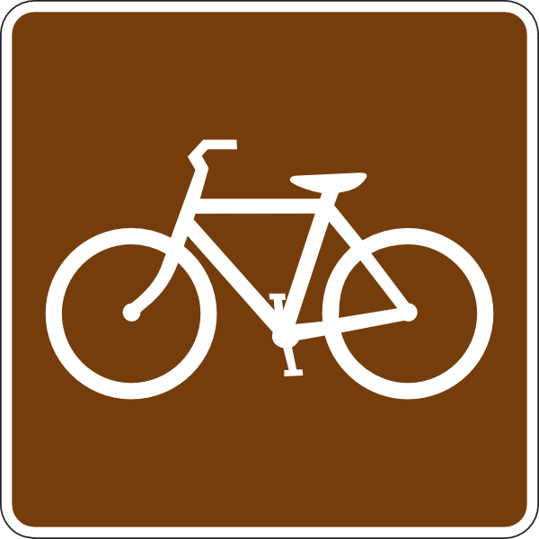 Bicycle Trail Sign Clip Art at Clker.com.