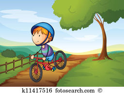 Bicycle path Clip Art EPS Images. 605 bicycle path clipart vector.