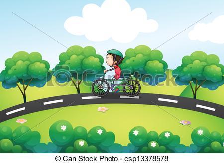Bike path Vector Clipart EPS Images. 735 Bike path clip art vector.