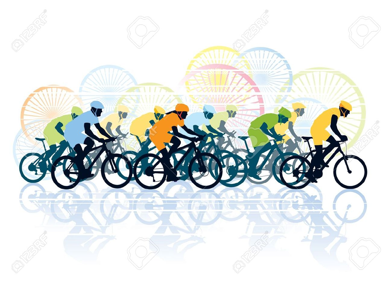 Cycle race clipart 12 » Clipart Station.