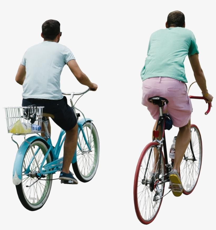 Riding Bike Png.