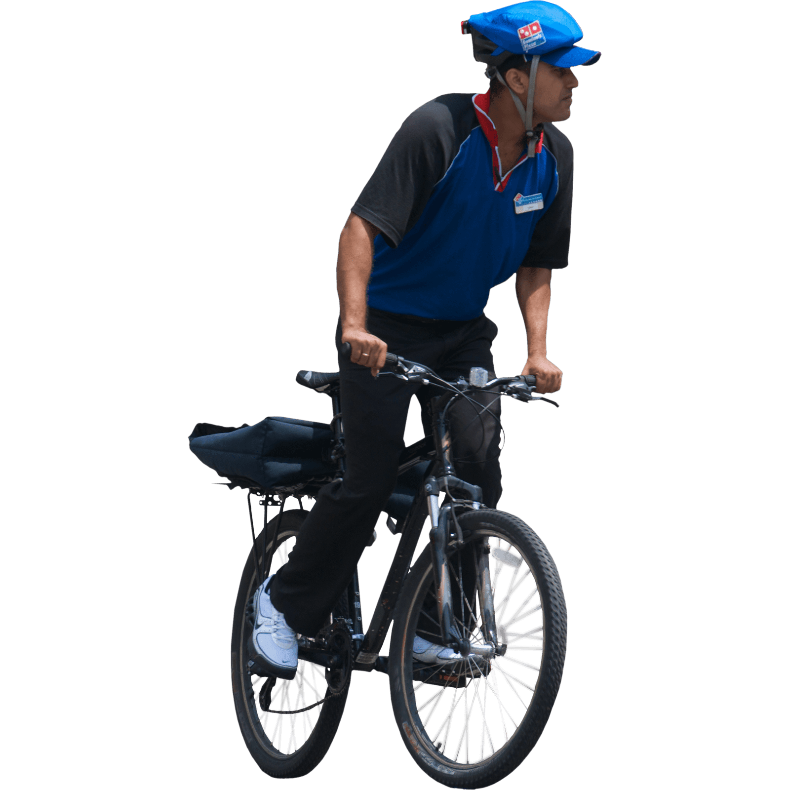 PNG Sector: Bicycle rider png.