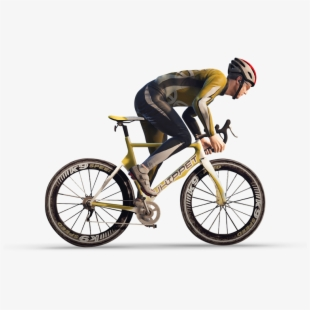 Bicycle Rider Png.