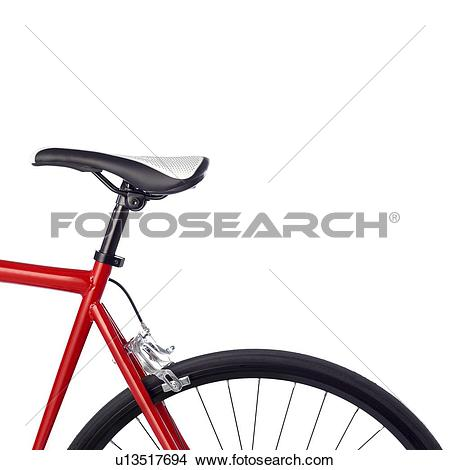Drawings of Bicycle saddle against a white background. u13517694.