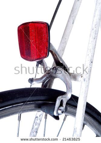 Bike Reflector Stock Photos, Royalty.