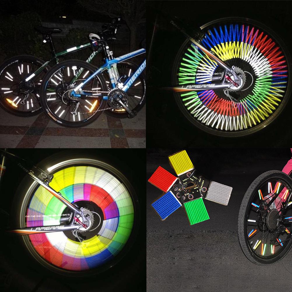 Bike Spoke Reflector Promotion.
