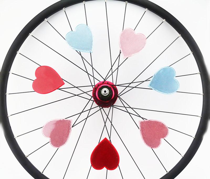 Drift Maniac Bicycle Wheel Rim Spoke Reflective Reflector Love.
