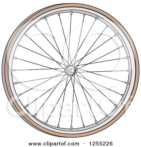Bike tire clipart.
