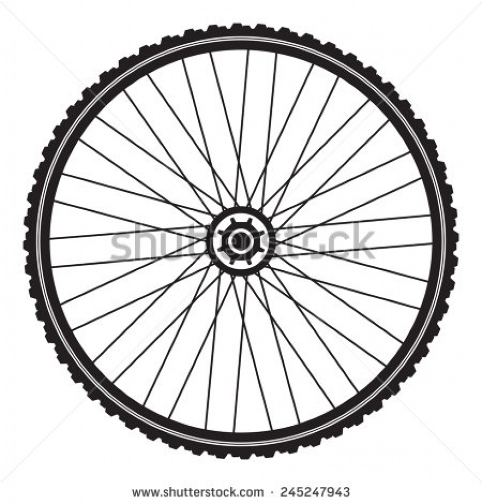 bicycle tires clipart clipground