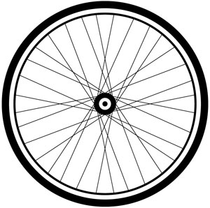 Bicycle Wheel Clipart.