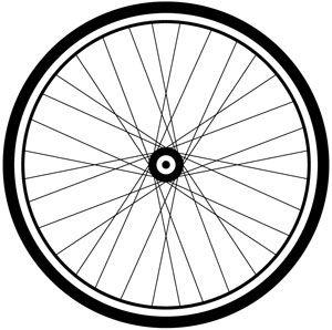 Bike Wheel Clipart.