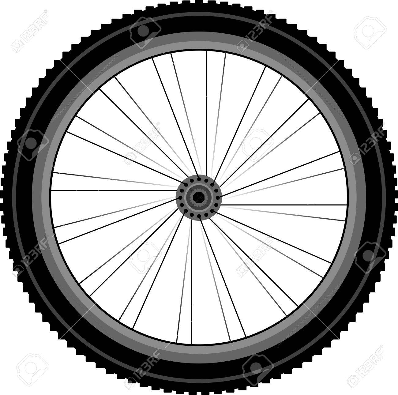 Bicycle wheel clipart 7 » Clipart Station.