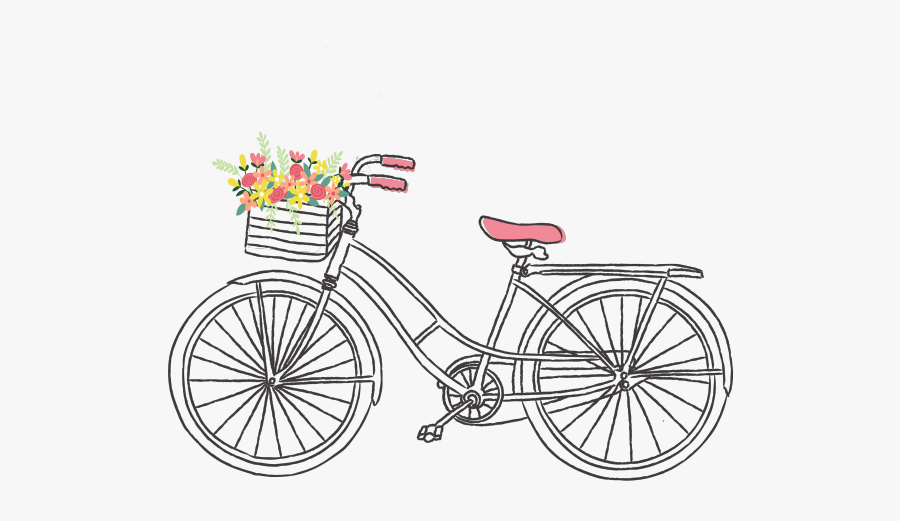 Cute Bicycle Clipart , Free Transparent Clipart.