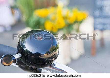Stock Photo of Bicycle bell is098q21o.
