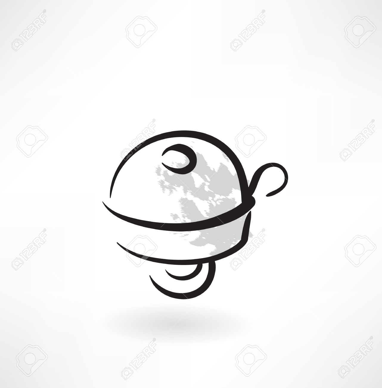 Bicycle Bell Grunge Icon Royalty Free Cliparts, Vectors, And Stock.