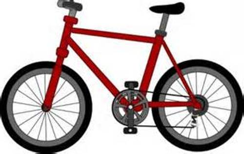Free bicycle clip art.