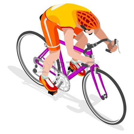 107 Isometric Bicyclist Stock Vector Illustration And Royalty Free.