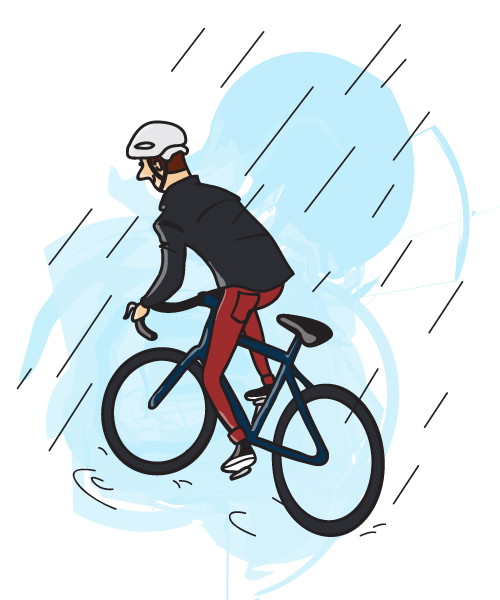 Cycling in the Rain — Part 1.