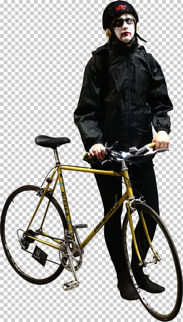 Cycling Bicycle PhotoScape, post it PNG clipart.